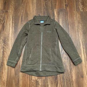 NWOT Columbia Zip Up Sweatshirt